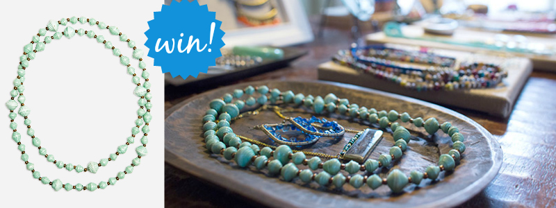 Noonday Minted Necklace Win