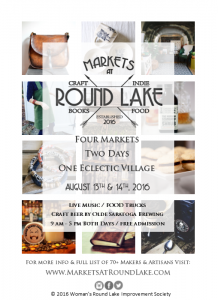 2016 Markets at Round Lake @ Village of Round Lake |  |  |