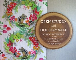 Open Studio and Holiday Sale @ Betsy Olmsted Textile Studio | Saratoga Springs | New York | United States