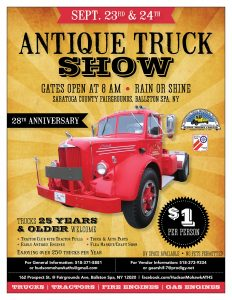28th Annual Hudson Mohawk Antique Truck Show @ Saratoga County Fairgrounds |  |  |