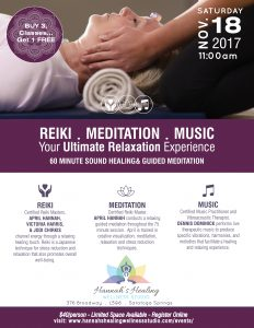Reiki Meditation Music @ Hannahs Healing Wellness Studio | | |