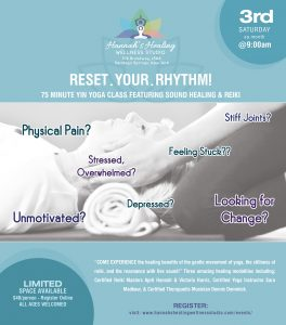 Reset Your Rhytm @ Hannahs Healing Wellness Studio | | |