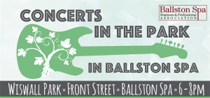 Ballston Spa Concerts in the Park Series 2018 @ Wiswall Park | Ballston Spa | New York | United States