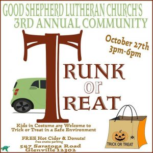 3rd Annual Trunk or Treat @ Good Shepherd Lutheran Church | Schenectady | New York | United States