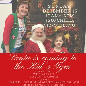 Santa Playdate @ We Rock the Spectrum Kid's Gym | Ballston Spa | New York | United States