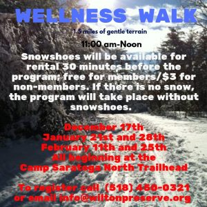Wellness Walk @ Wilton Wildlife Preserve & Park | Gansevoort | New York | United States