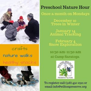 Preschool Nature Hour- Snow Exploration @ Wilton Wildlife Preserve & Park | Gansevoort | New York | United States
