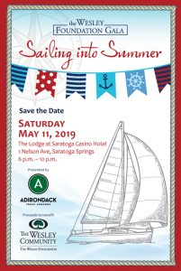 The Wesley Foundation Gala - Sailing Into Summer @ The Lodge at Saratoga Casino Hotel | Saratoga Springs | New York | United States