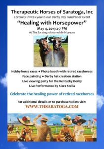 Derby Day Healing with Horsepower Fundraiser Event @ Saratoga Auto Museum | Saratoga Springs | New York | United States
