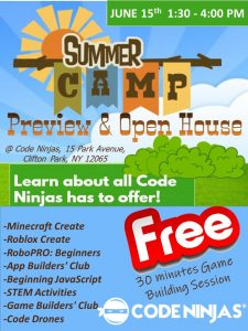 CODE NINJAS - Open House & Summer Camps Preview @ Code Ninjas | New York | United States