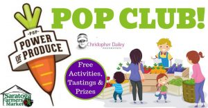 POP Club for Kids @ Saratoga Farmers' Market | Saratoga Springs | New York | United States