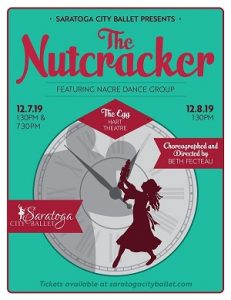 The Nutcracker: Presented by Saratoga City Ballet @ The Egg | Albany | New York | United States