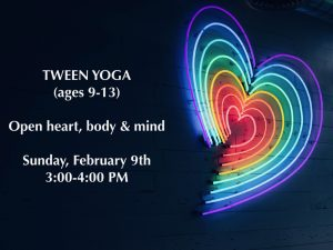 Tween Yoga @ Yana Yoga | Ballston Spa | New York | United States