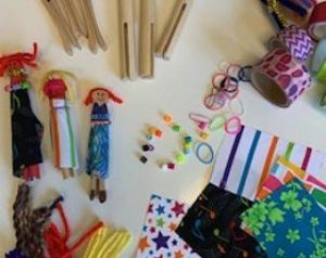 Clothespin Dolls Kit and Virtual Art Class @ Your Home |  |  |